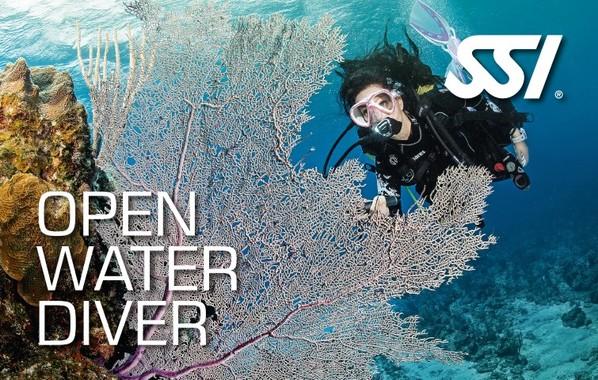 קורס צולל מים פתוחים - כוכב ראשון לילדים